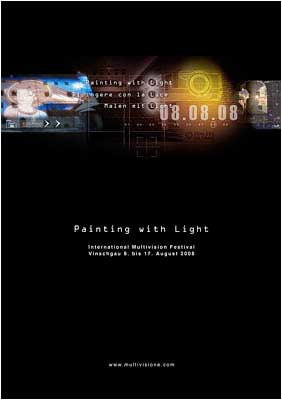 Painting with Light festival 2008 document cover