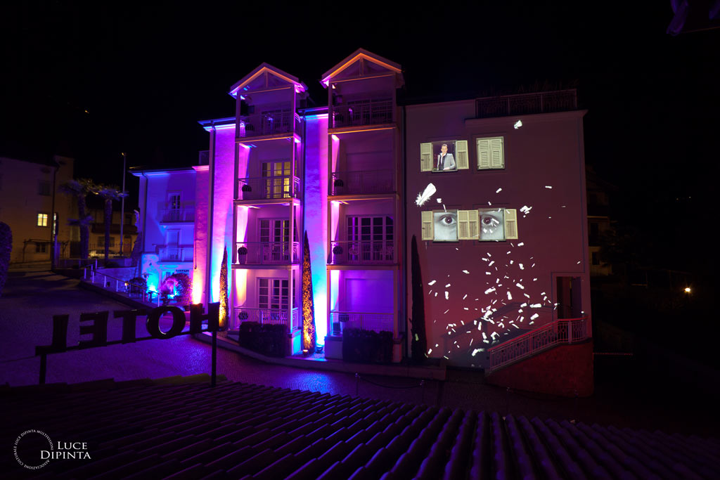 Magdalenahof Bolzano, Pyjama Party Projection